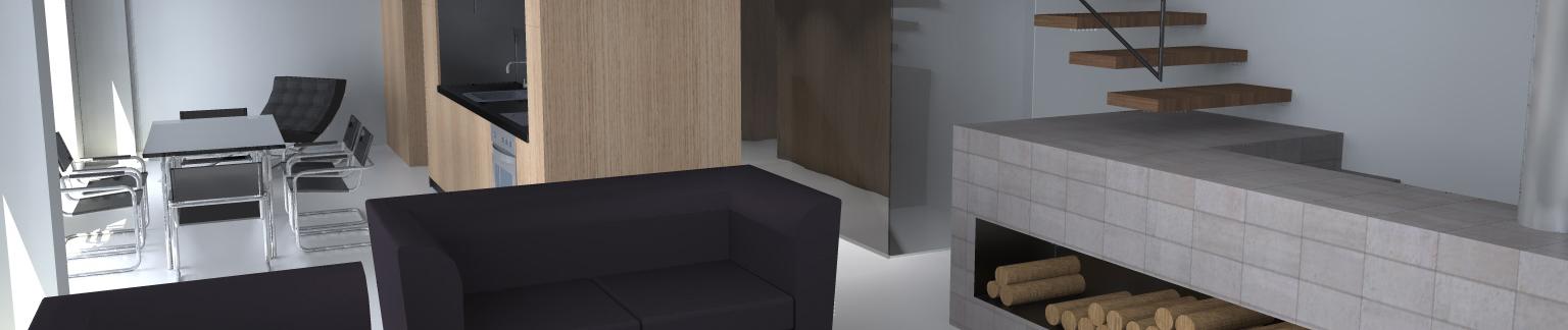 lofto interjeras